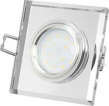 LED Deckeneinbauleuchte flach Einbautiefe nur 15mm