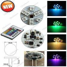 LED-Deckenfluter, G4 LED-Birne mit Farbwechsel und