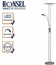LED Deckenfluter mit Leselampe MERKUR, dimmbar,