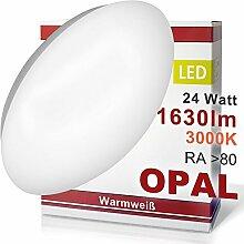 LED Deckenleuchte 12 Watt warmweiß 780 Lumen OPAL