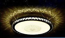 LED Deckenleuchte 2017-800 Kristall bernstern Ø 80cm inkl.LEDs und Fernbedienung Lichtfarbe/ Helligkeit einstellbar 64w [Energieklasse A+] (bernstein) LED Wohnzimmerleuchte Kronleuchte Pendelleuchte DeckenlampeDeckenstrahler LED Deckenleuchte Hängeleuchte Hängelampe LED lampe LED Leuchte Beleuchtung Einbauleuchte Wandleuchte Spot Lüster