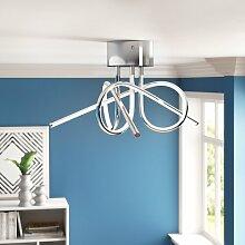 LED-Deckenleuchte 3-flammig Erma Zipcode Design