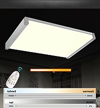 LED Deckenleuchte 3065 Alu Rahmen silber mit