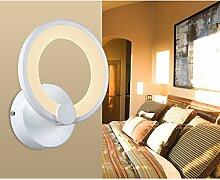 LED Deckenleuchte 6067-1fl Ø19x10cm LED 9W warmweiß 3100k Acryl-Schirm weiß lackierte Metallrahmen Design A+ (6067-1 9W) LED Wohnzimmerleuchte Kronleuchte Pendelleuchte DeckenlampeDeckenstrahler LED Deckenleuchte Hängeleuchte Hängelampe LED lampe LED Leuchte Beleuchtung Einbauleuchte Wandleuchte Spot Lüster