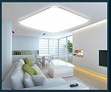 LED Deckenleuchte 6086-39x39cm 15W warmweiß Rahmen silber extra dünn 10cm (6086-39x39cm 15W warmweiß) LED Wohnzimmerleuchte Kronleuchte Pendelleuchte DeckenlampeDeckenstrahler LED Deckenleuchte Hängeleuchte Hängelampe LED lampe LED Leuchte Beleuchtung Einbauleuchte Wandleuchte Spot Lüster