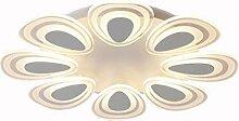 LED Deckenleuchte 8 Blütenblatt Design Acryl