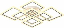 LED Deckenleuchte 8 Diamant Design Acryl
