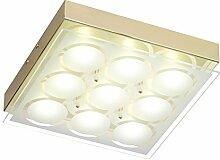 LED Deckenleuchte 9 flammig Deckenlampe Flurlampe