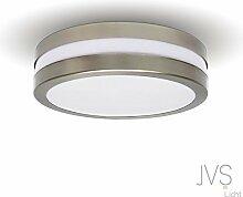 LED Deckenleuchte Bad-Lampe Aussen-Leuchte PROVANCE E27 230V IP44 LED Lampe Wandleuchte LED-Deckenleuchte Außenleuchte Wandstrahler LED Leuchte Aussenbeleuchtung Wohnzimmerlampe für Badezimmer Küche Flur Badlampe Badleuchte Rund