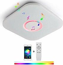 LED Deckenleuchte Bluetooth Dimmbar 36W