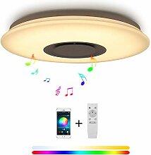 LED Deckenleuchte Bluetooth Dimmbar 36W RGB mit