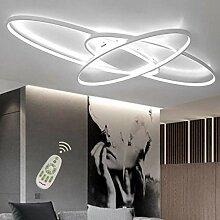 LED Deckenleuchte Dimmbar Wohnzimmerlampe Mit