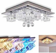 LED Deckenleuchte Everlight, dimmbare Deckenlampe aus Metall