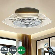 LED Deckenleuchte Fan Moderne Beleuchtung