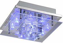 LED Deckenleuchte Fernbedienung Farbwechsler