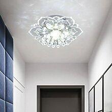 LED Deckenleuchte Flurlampe Modern Kristall Blumen