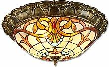 LED-Deckenleuchte, Klassische Tiffany-Lampen
