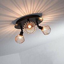 LED Deckenleuchte Küche, Vintage Deckenstrahler