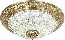 LED Deckenleuchte landhaus Kupfer Deckenlampe Gold