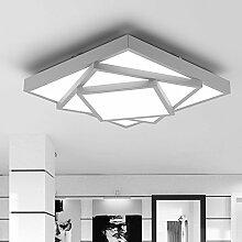 LED Deckenleuchte Moderne Eckig Design Leuchte