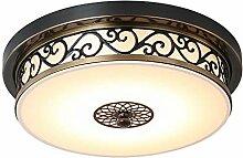 LED Deckenleuchte Moderne Retro Deckenlampe Round
