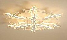 LED Deckenleuchte Originell Runde Design 6+3 Ast