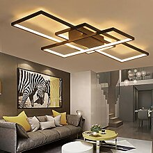 LED Deckenleuchte Rechteckig Wohnzimmerlampe