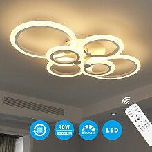 LED-Deckenleuchte Rund dimmbar 40W LED Mit