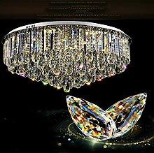 LED-Deckenleuchte Runde Wohnzimmer Kristalllampe