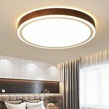 LED Deckenleuchte Top 360° Glühen Holz