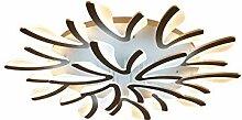 LED Deckenleuchte Transparente Blume Design Acryl