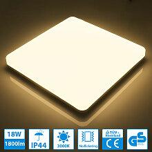 LED Deckenleuchte Warmweiß LED Deckenlampe 3000K,