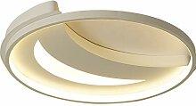 LED Deckenleuchte Weiß Moderne Runde und Mond