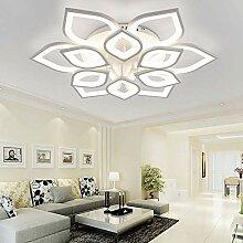 LED Deckenleuchte Wohnzimmer Blume Form Warme