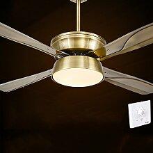 LED-Deckenleuchten minimalistisch modernen europäischen antiken Kronleuchter Ventilator Lampe Deckenventilator Lampe Einzellampenmodelle