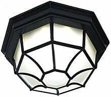 LED Deckenleuchten Schwarzes Quadrat Büro Licht