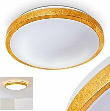 LED Deckenspot in Gold-Optik - Sora Badezimmer