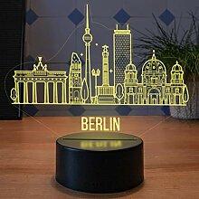 LED Deko Lampe Berlin City Skyline - Elbeffekt ?