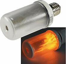 LED Dekolampe Flamme E27 mit Flacker-Effekt 230V