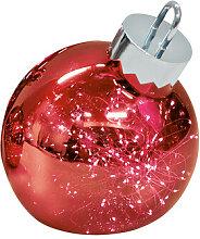 LED-Dekoleuchte Ornament sompex rot, Designer
