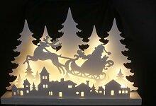 LED Dekoleuchte Weihnachtsdorf