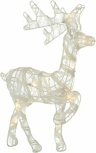 LED-Dekorationsfigur Rentier Die Saisontruhe