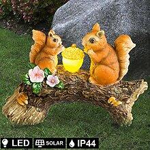LED Design Strahler Außen Solar Lampe