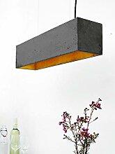 LED Designerleuchte aus Beton Dimmbar in
