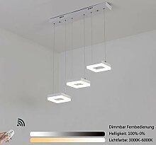 LED Dimmbar Pendelleuchte Modern Wohnzimmer