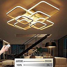 LED Dimmbare Deckenleuchte Wohnzimmerlampe Mit