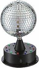LED Discokugel mit Spiegeleinlagen für die Party