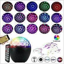 LED-Discokugel, Party-Licht mit Fernbedienung, 16