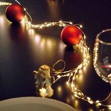 LED Draht-Lichterkette Indoor mit 60 Dioden