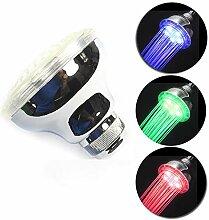 LED-Duschkopf, Hochdruck-Duschkopf mit 3